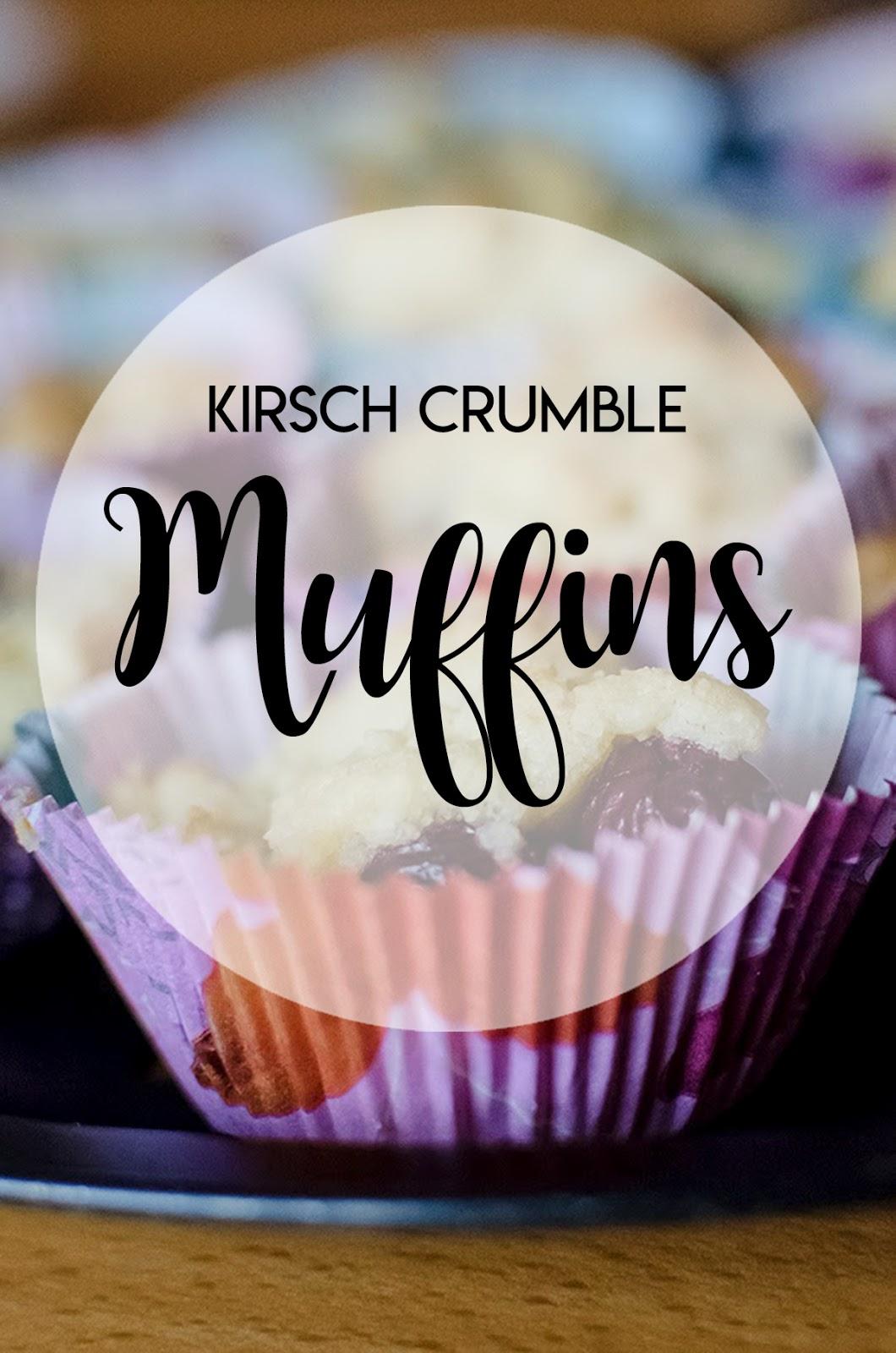 Kirsch-Crumble-Muffins-Rezept
