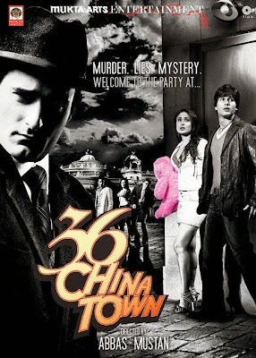 Poster Of Bollywood Movie 36 China Town (2006) 375MB Compressed Small Size Pc Movie Free Download worldfree4uz.info