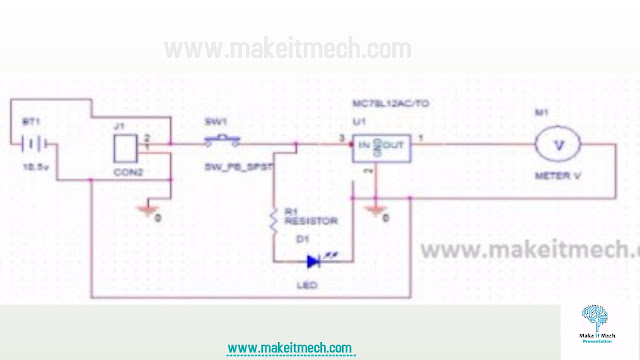 Power Distribution circuit