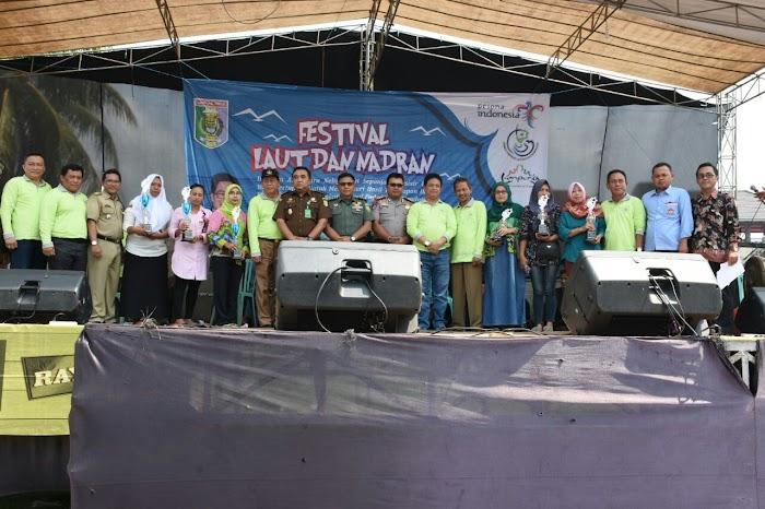 Sekda Kabupaten Lampung Timur Membuka Acara Tasyakuran Laut & Nadran