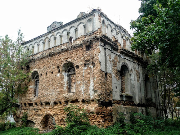 Сокаль. Колишня синагога 17 ст.