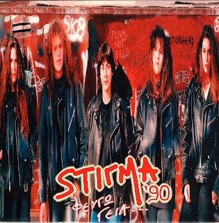 Στίγμα '90 - (1994) Φεύγω, Γεια_Front