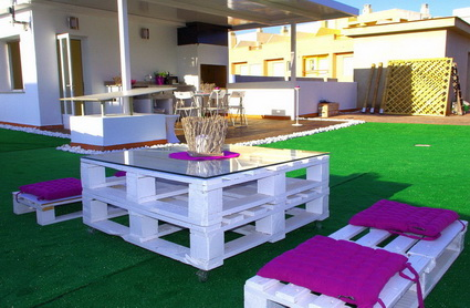 More ideas with recycled pallets 3