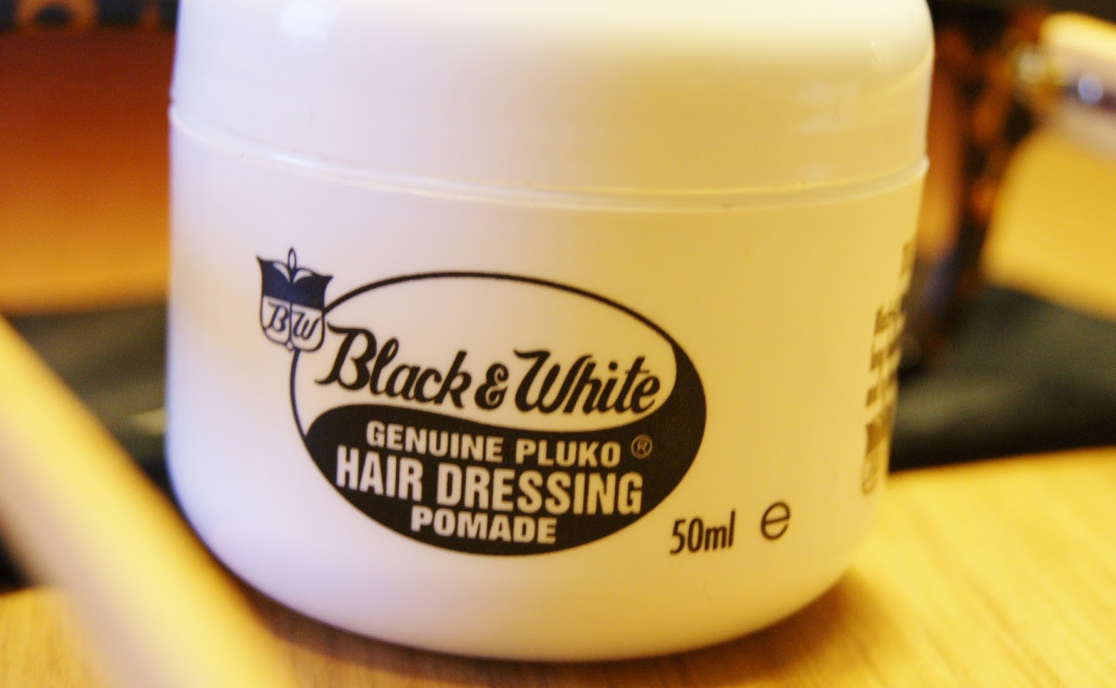 Black & White Pluko Hair Dressing Pomade Review