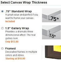 canvas wrap snapshot
