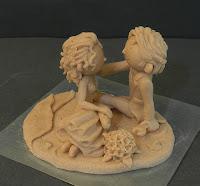 modellini personalizzati da colorare statuine divertenti sposi orme magiche