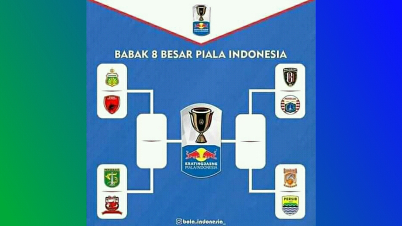 Bisskey Piala Indonesia 8 Besar Persib vs Borneo