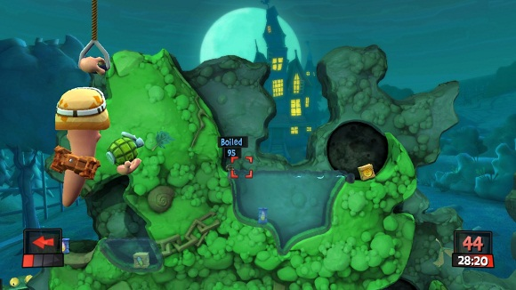 featuring exciting new features and beautiful  Worms Revolution-FLT