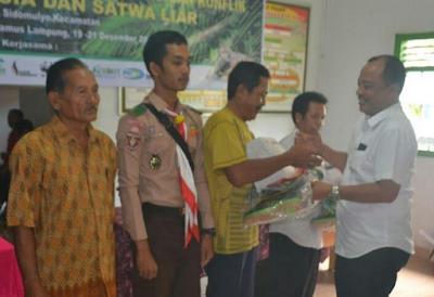 Pemprov Lampung Rumuskan Tujuh Rencana Penyelesaian Konflik Manusia VS Satwa Liar