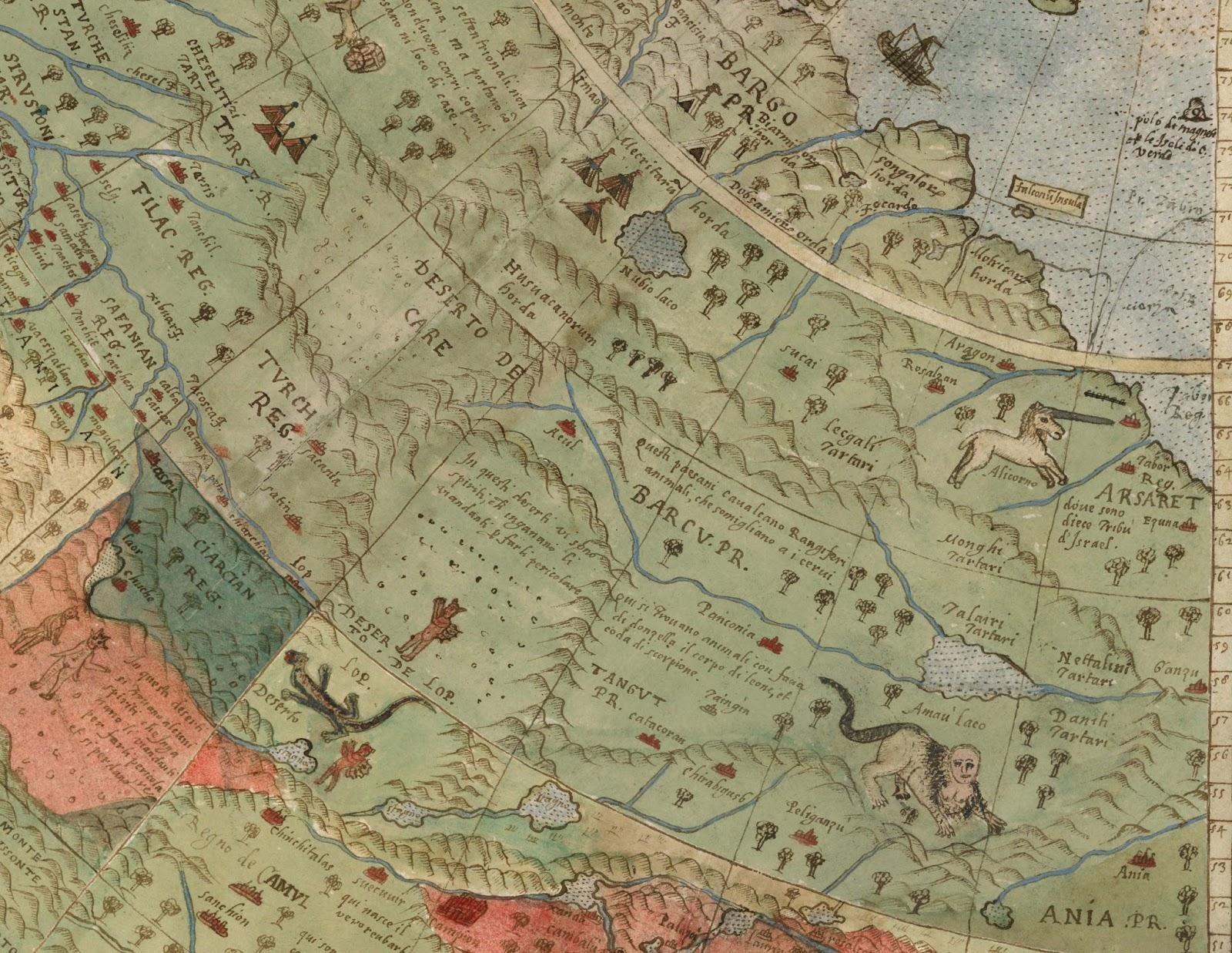 O mapa é enriquecido com detalhes incríveis