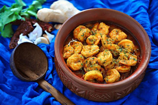 Goan Shrimp Curry, Sunkattam Koddi