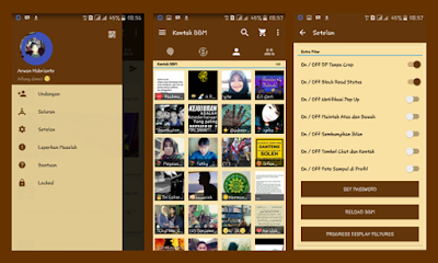 BBM MOD Braw Themes V.2.13.1.14 Full Features