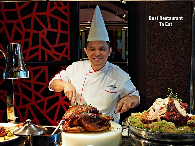 Chef Peter Lee SUNWAY RESORT HOTEL CHRISTMAS 2018 AND NEW YEAR 2019 CELEBRATION