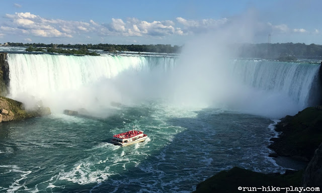 Hornblower at Horseshoe Falls at Niagara