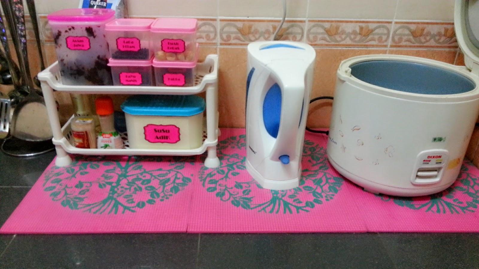 Okey Nie Jelah Yang Dapat Aku Kongsikan Tentang Susun Atur Ruang Dapur Comel Hehehe Nanti Ada Perubahan Updated Hokey Bye