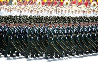 défilé militaire chinois