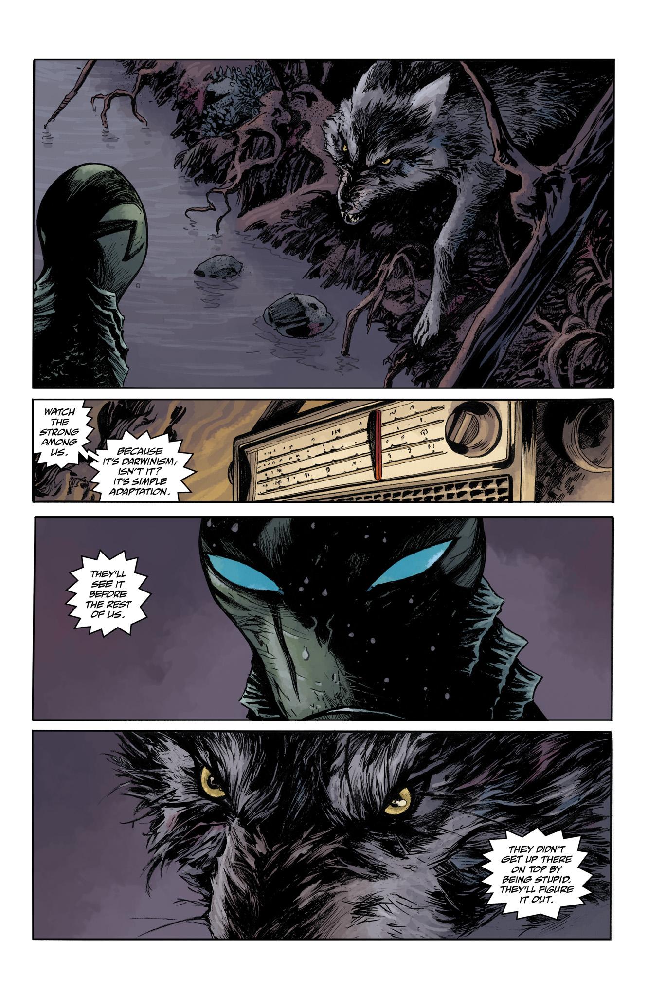 Read online Abe Sapien comic -  Issue #4 - 6