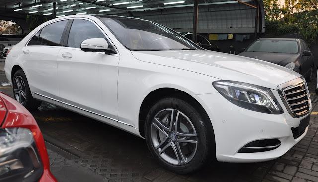 Khung xe Mercedes S400 L thiết kế bền vững an toàn