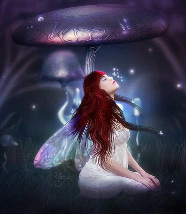 Lovely Fantasy Artwork by Marjie