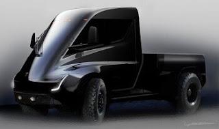"""ايلون موسك يتعهد ببناء تسلا شاحنة صغيرة """"الحق بعد"""" نموذج Y"""