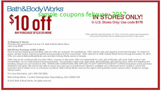 Bath And Body Works coupons february