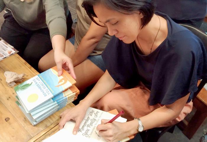 Ms. Joan Mae Soco-Bantayan Book Signing at Kaizen