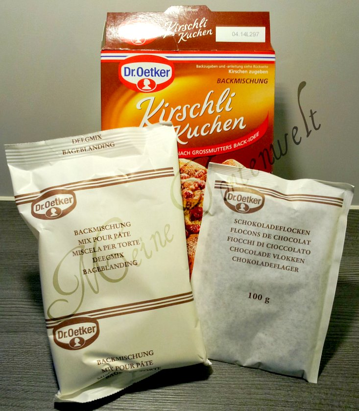 """Meine Tortenwelt: Im Test: """"Dr. Oetker Kirschli Kuchen"""""""