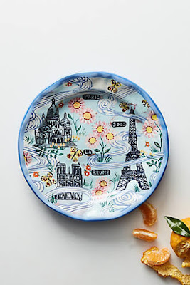 Anthropologie favorites house and home gallery spring 2017 for Calligrapher canape plate anthropologie