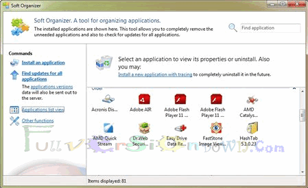 Soft Organizer Full Version