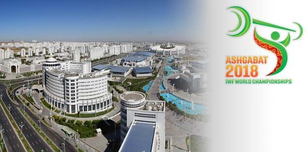 HALTEROFILIA - Mundial 2018 (Ashgabat, Turkmenistán)