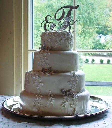 Wedding Cake Bling Beautiful Cakes That Sparkle Amp Shine