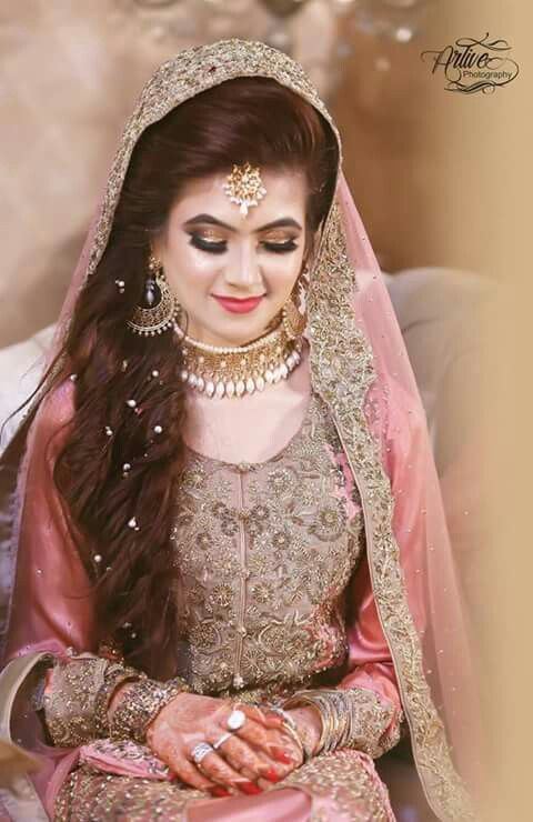 Stylish and trendy pakistani bridal wedding hairstyles for your new styles pakistani bridal wedding hairstyles for your junglespirit Images
