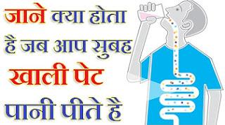खाली पेट पानी पीने से होते है ये जबरदस्त फायदे | Amazing Benefits of Drinking Water