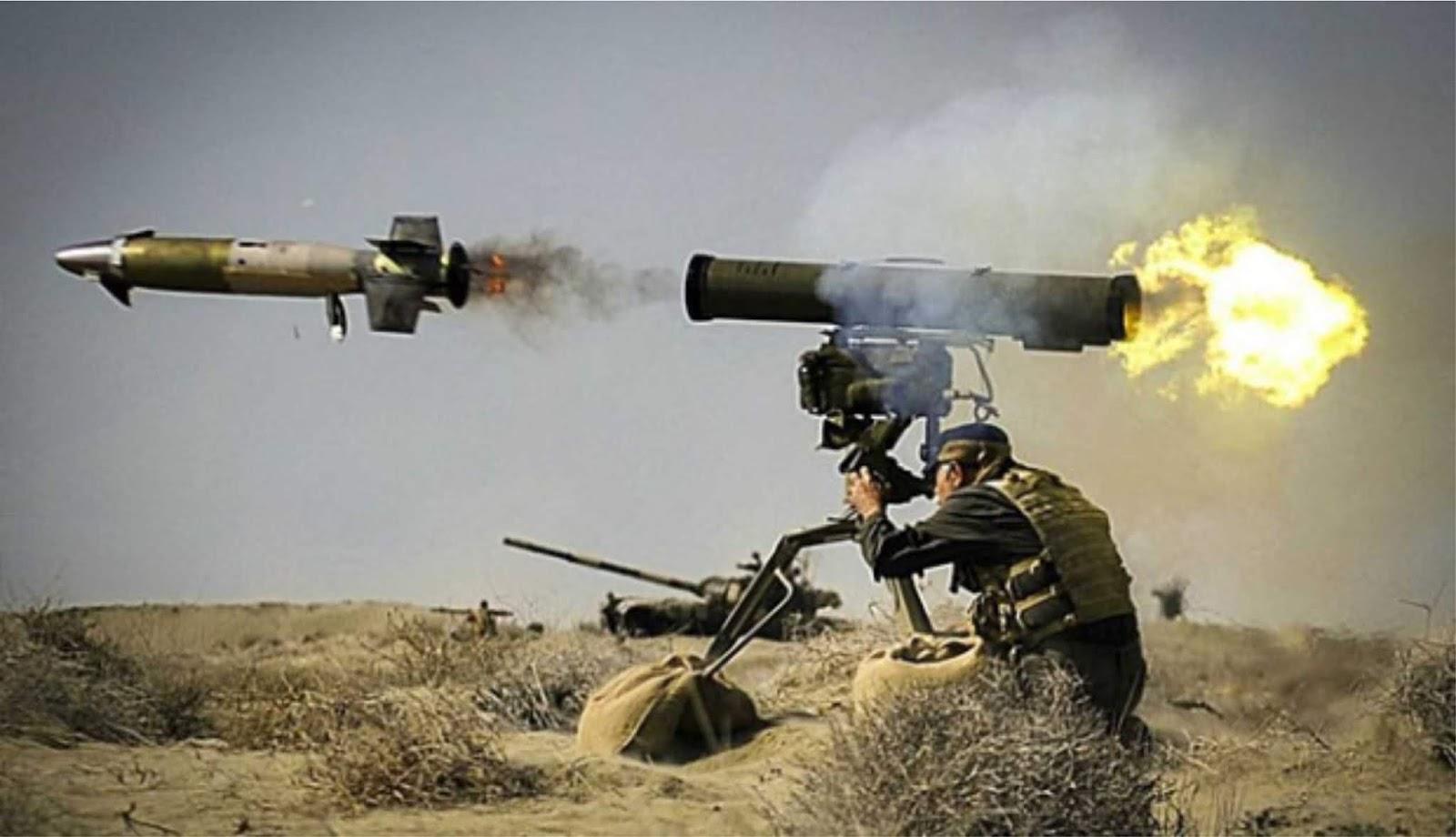 Israel mengatakan militan Palestina menggunakan rudal buatan Rusia