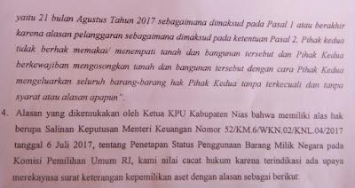 Sekda Gunungsitoli Tuding Sk Menteri Keuangan Cacat Hukum Investigasindo Com