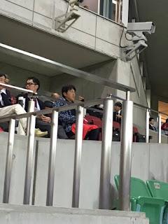 石橋貴明 スポーツ観戦