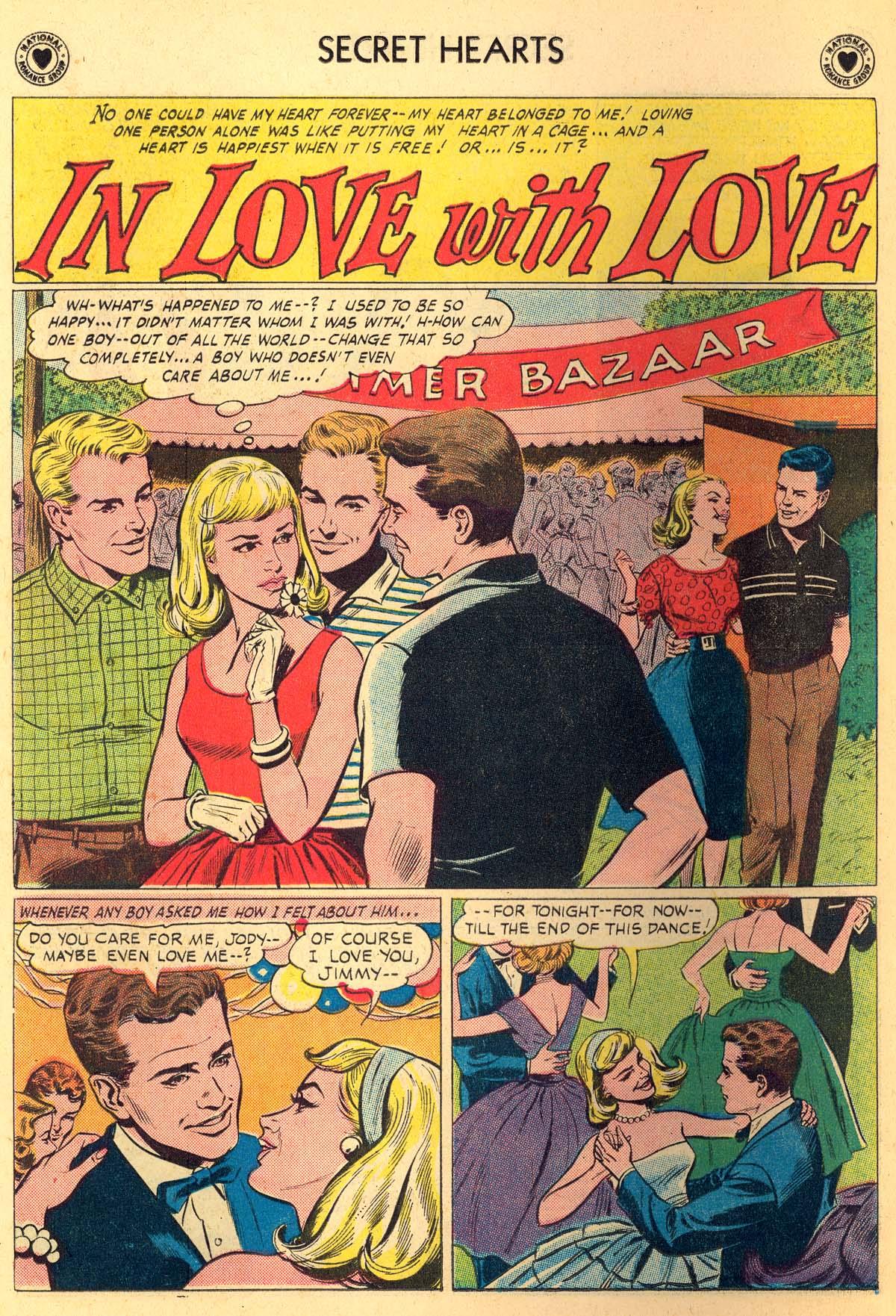 Read online Secret Hearts comic -  Issue #66 - 14