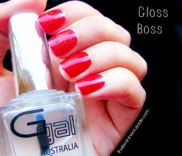 Glitter Gal Gloss Boss - swatch