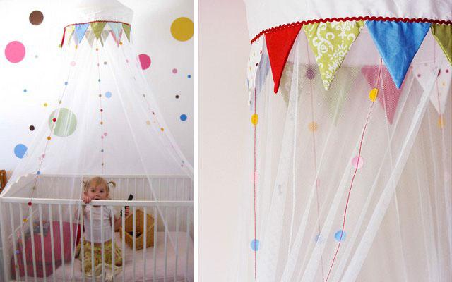 Mi rinc n de sue os decorar con mosquiteras la habitaci n - Habitacion infantil barata ...