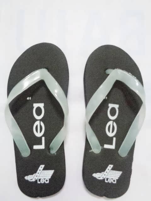 sandal jepit MURAH LEA HITAM