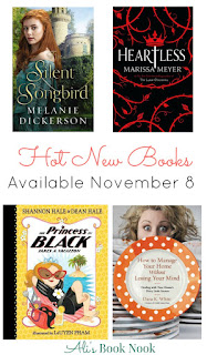 Hot New Books available November 8. All genres of books