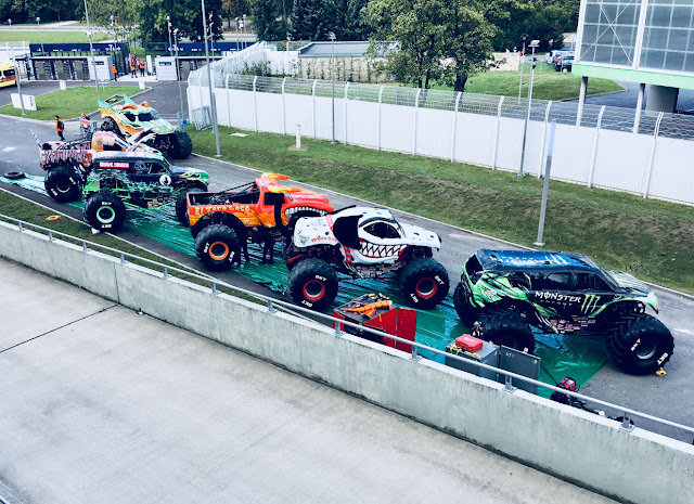 Monster Truck na Monster Jam, 22.09.2018 r., Chorzów, stadion Śląski