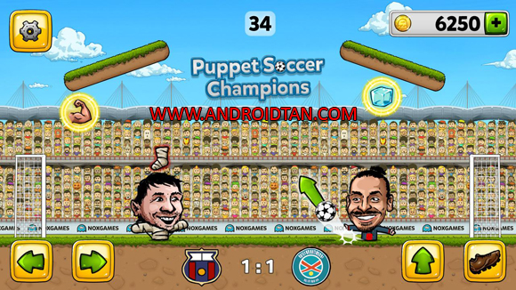 Puppet Soccer Champions 2014 Mod Apk Latest Version