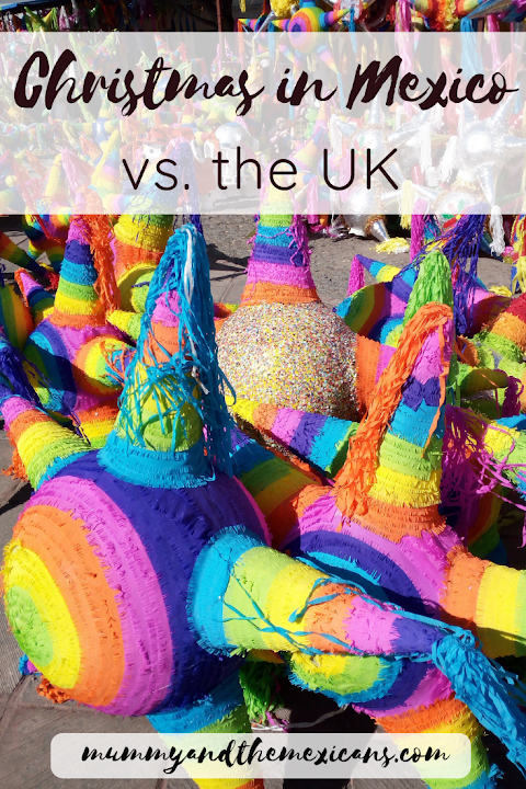Christmas in Mexico vs. the UK
