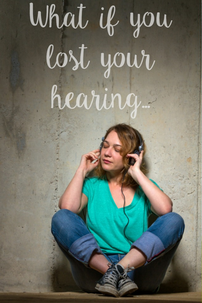 What if you lost your hearing...#ListenHear #CoverYourEars #GenerationDeaf ad