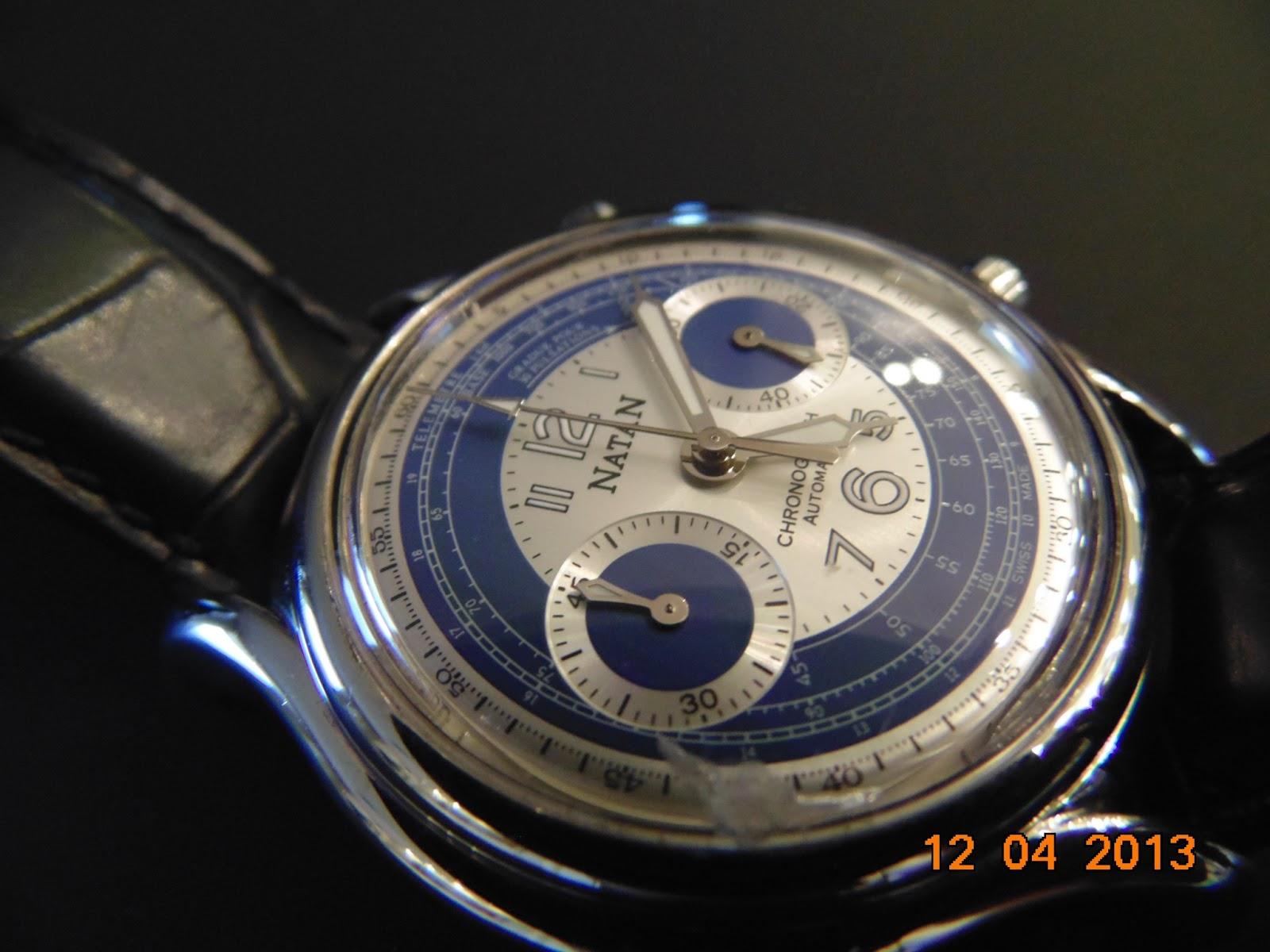 98c6f8960cc Natan Automatic Chronograph. Comprei hoje