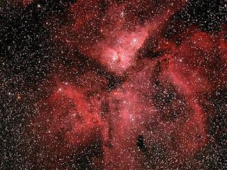 Image of NGC 3372 - Carina Nebula imaged by Michael Petrasko