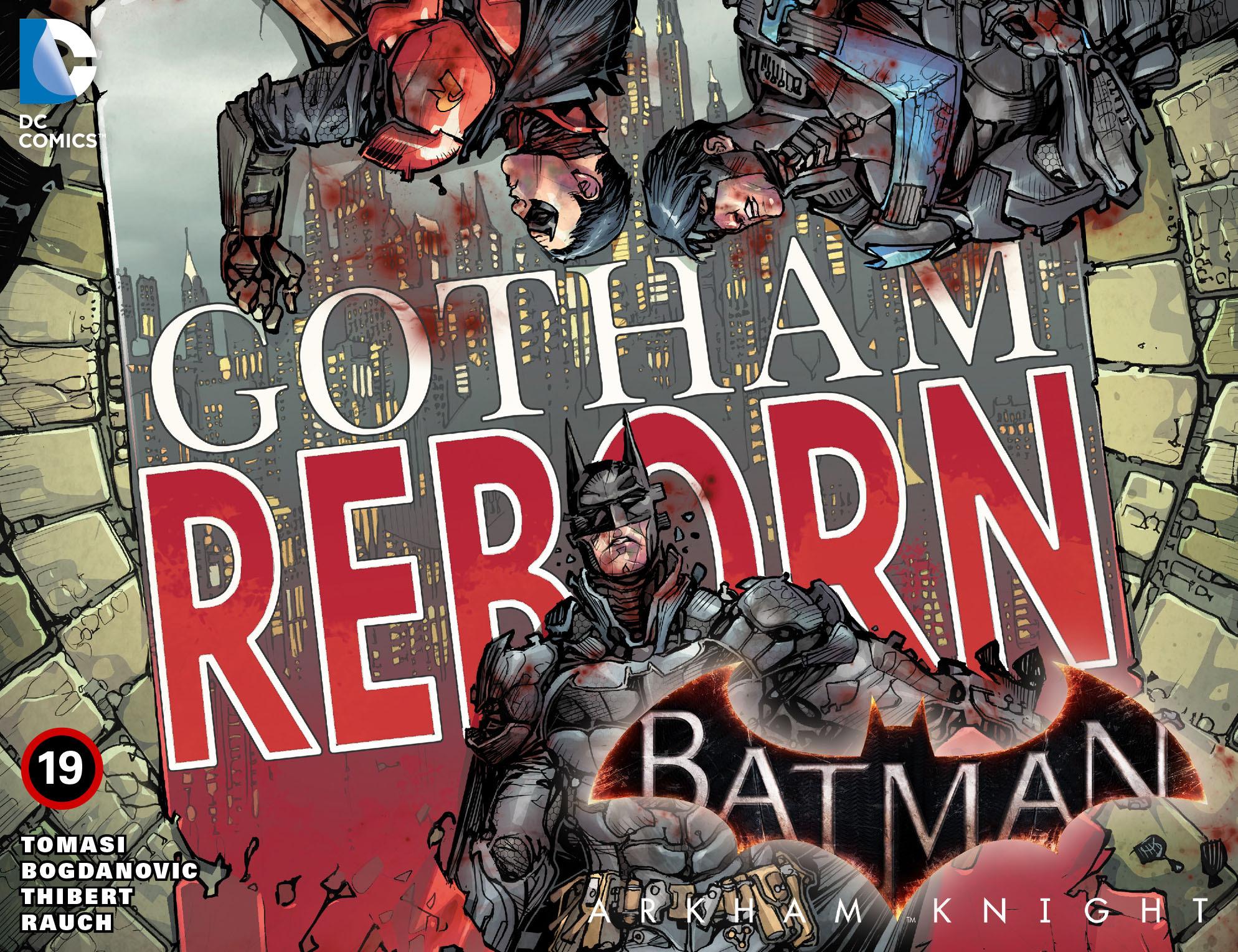 Batman: Arkham Knight [I] 19 Page 1