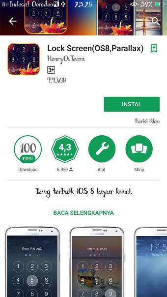 mengubah tampilan hp Android agar seperti iOS iPhone