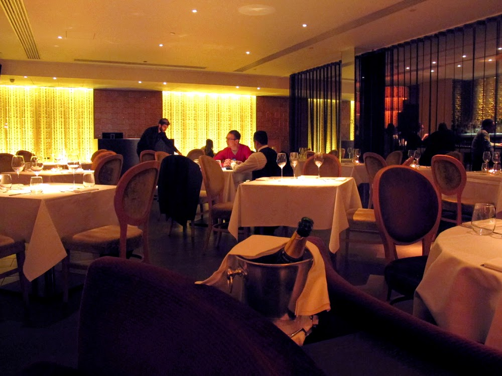 Aqua Nueva restaurant, London